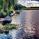 Graaft Canals Amsterdam by Jennifer Craker