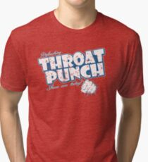 Throat Punch Tri-blend T-Shirt