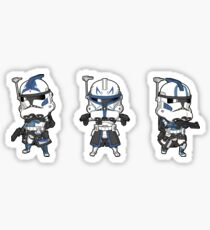 Mini Fives, Rex, Echo Sticker