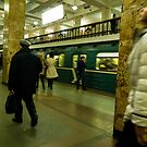 Moscow Subway by Norman Repacholi