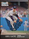 309 - Greg Gagne by Foob's Baseball Cards