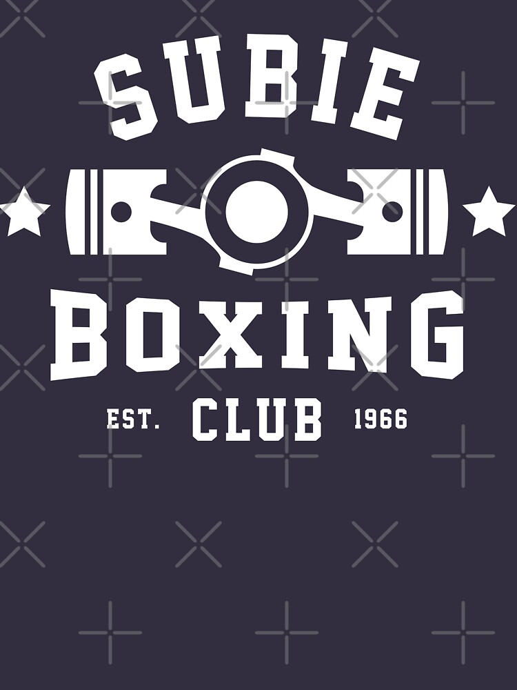 SUBIE BOXING CLUB by melvtec