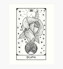 Death - Tarot Art Print