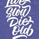 «Live Slow Die Old» de Wes Franklin