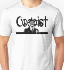 THEY LIVE! Coexist Mash-Up (wht) Unisex T-Shirt