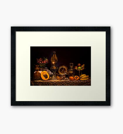 """Indulge"" Old Masters Series Final Framed Print"