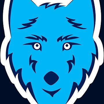 WolfTangoFox - wolf face graphic by mikemaxdesigns