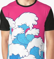 As the waves roll in Graphic T-Shirt