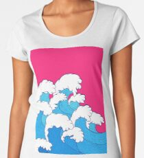 As the waves roll in Women's Premium T-Shirt