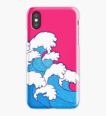 As the waves roll in iPhone Case/Skin