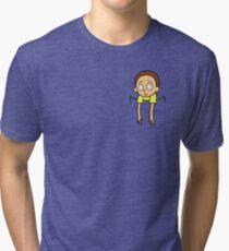Camiseta de tejido mixto Bolsillo morty!