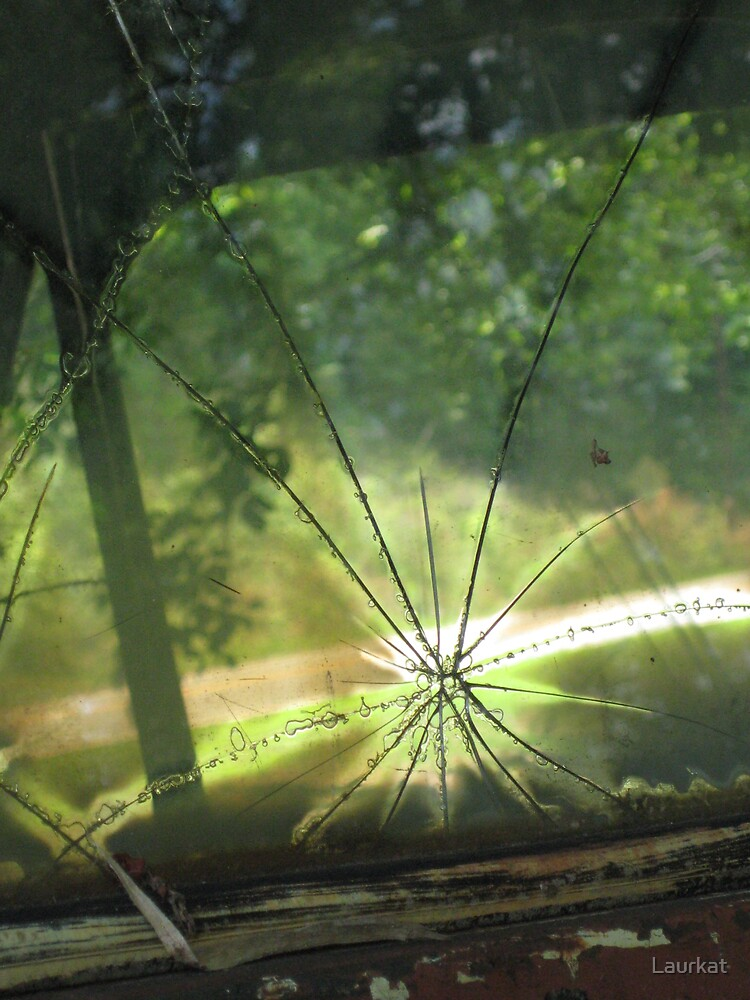 Talking Rock windshield glassblast by Laurkat