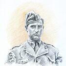Giancarlo Cioffi portrait by Francesca Romana Brogani