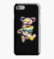 grateful dead bear iPhone Case/Skin