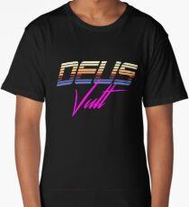 Deus Vult - Synthwave  Long T-Shirt