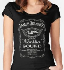 James Delaney Women's Fitted Scoop T-Shirt