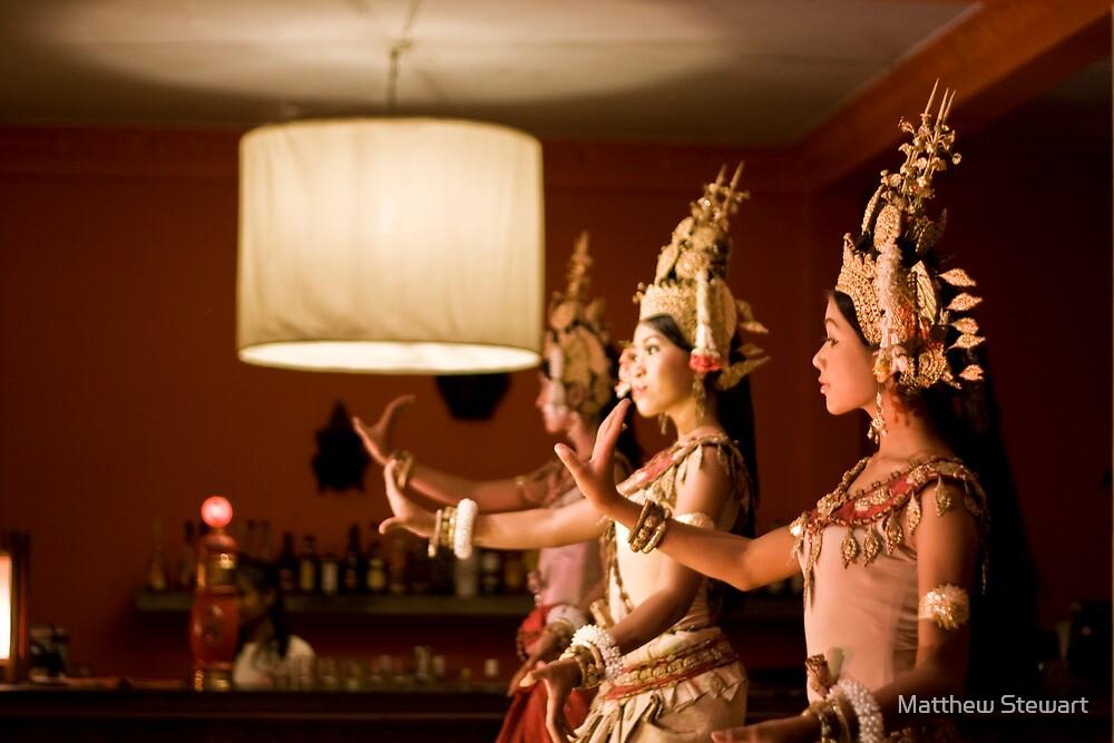 Aspara Dancers by Matthew Stewart