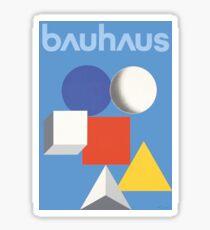 Bauhaus poster HERBERT BAYER Sticker