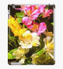 The Bouquet. Ultra-realistic photo-painting iPad Case/Skin