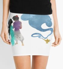 Princess, Prince and Genie Inspired Silhouette Mini Skirt