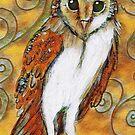 Barn Owl 1 by Sheridon Rayment by Sheridon Rayment