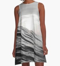 Motion of Water A-Line Dress