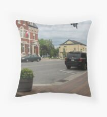 June 21, 2008 - 7pm Throw Pillow