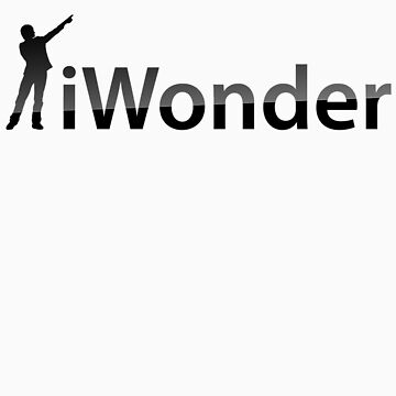 iWonder - Brian Cox pointing logo by neildavies1