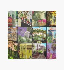 "An impression of  ""Le Provence"" in the  South of France Scarf"