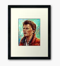 Marty Framed Print