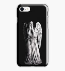 Weeping Angel - Don't Blink iPhone Case/Skin