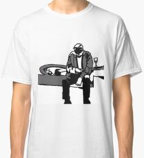 Elder with mobile by Susanne Schwarz Classic T-Shirt