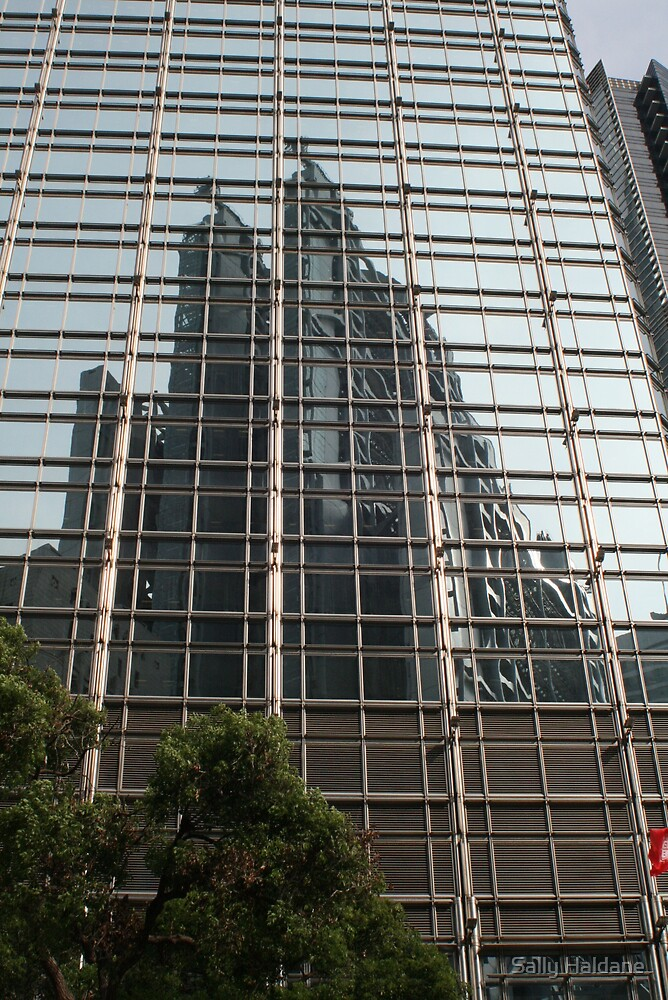 Hong Kong Reflections by Sally Haldane