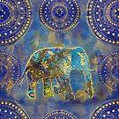 Blue Elephant by artsandsoul