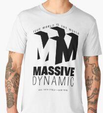 Massive Dynamic – Your World Is Our World  Men's Premium T-Shirt