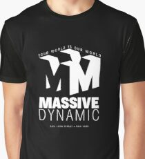Massive Dynamic – Your World Is Our World Reverse Graphic T-Shirt