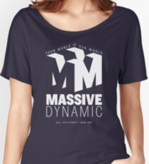 Massive Dynamic – Your World Is Our World Reverse Women's Relaxed Fit T-Shirt