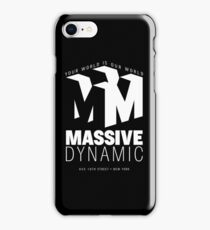 Massive Dynamic – Your World Is Our World Reverse iPhone Case/Skin