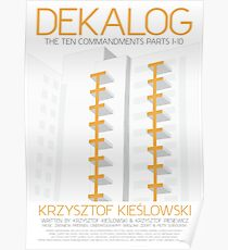 Kieslowski - The Dekalog Poster