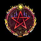 The Pentacle of Fire by UrbanFaun