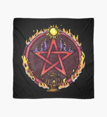 The Pentacle of Fire Scarf