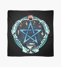 The Pentacle of Water Scarf