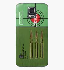 Funda/vinilo para Samsung Galaxy BATTLEGROUNDS PUBG 5.56 AMMO