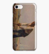 Man with a Hoe 1860 - 1862 Jean-François Millet iPhone Case/Skin