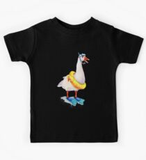 Snorkeling Goose Kids Clothes