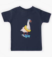 Snorkeling Goose Kids Clothes
