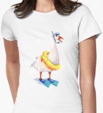 Snorkeling Goose T-Shirt