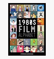 1980's Film Alphabet Photographic Print