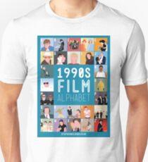 1990's Film Alphabet T-Shirt