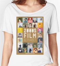 00s Film Alphabet Women's Relaxed Fit T-Shirt